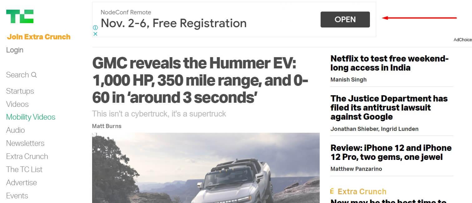 Реклама на сайтах Forbes, New York Times и TechCrunch за -/клик: как это работает и еще больше таких сайтов
